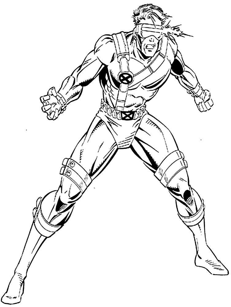 x men 2 coloring pages - photo #25