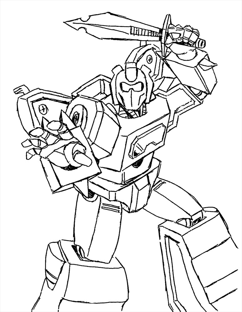 Transformers Angry Bird Coloring Pages